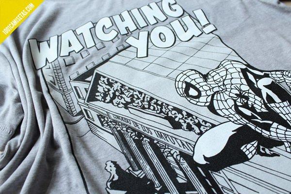 Camiseta spiderman miyagi