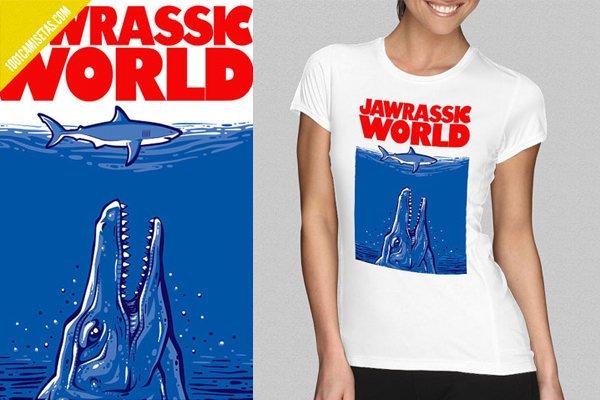 Camiseta jurassic world tiburon