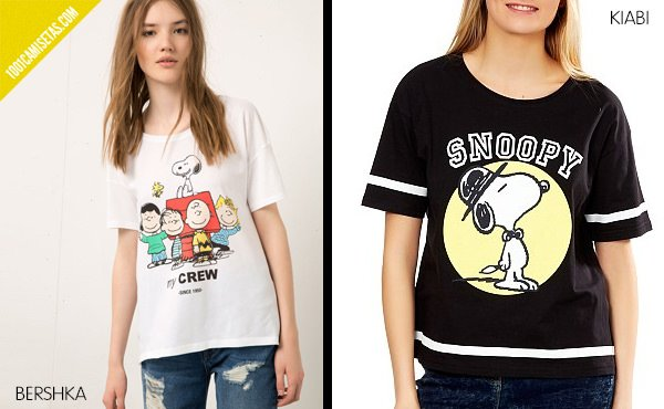Camisetas snoopy low cost