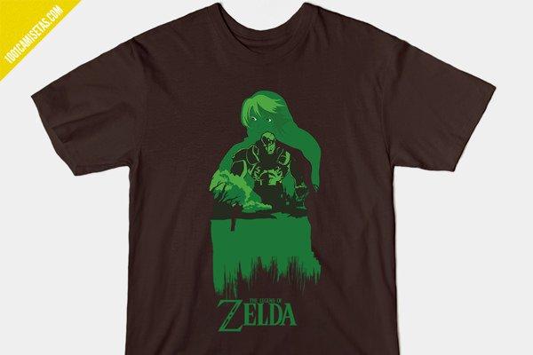 Camisetas Zelda Diseno