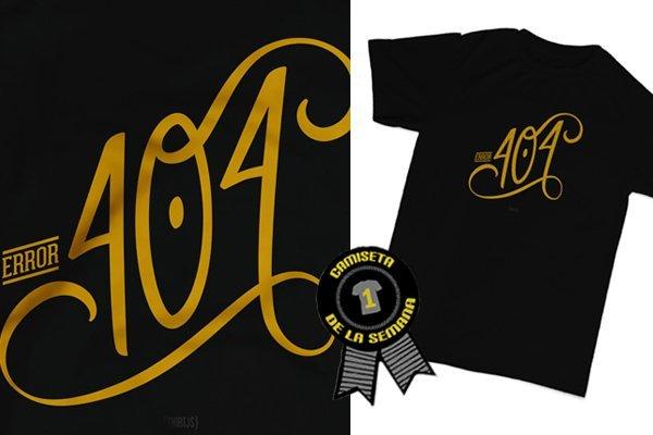 Camiseta semana 404