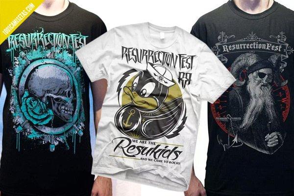 Camisetas resurrection fest