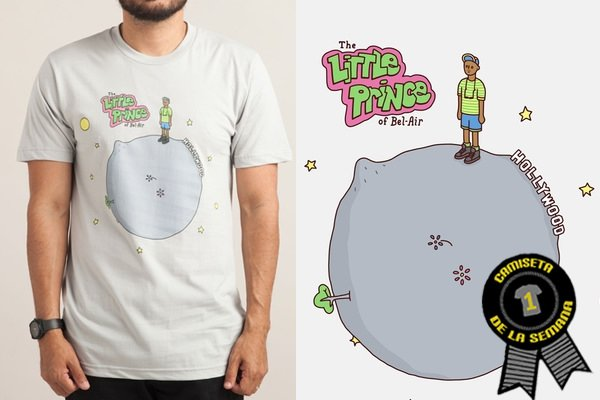 Camiseta semana little fresh prince