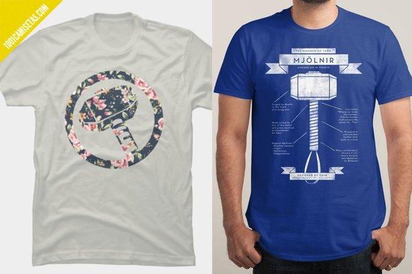 Camisetas thor mjolnir