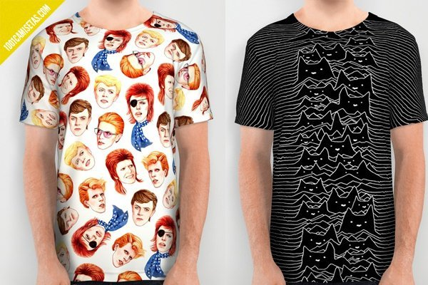 Camisetas full print joy division
