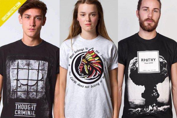 Camisetas políticas allriot