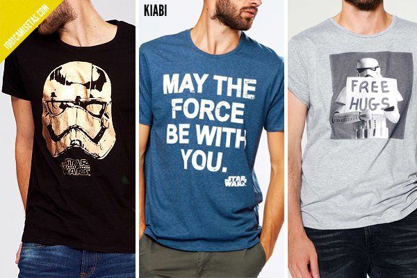 Camisetas star wars kiabi