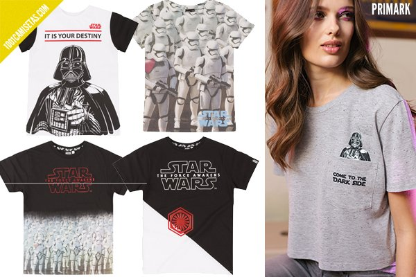 Camisetas star wars primark