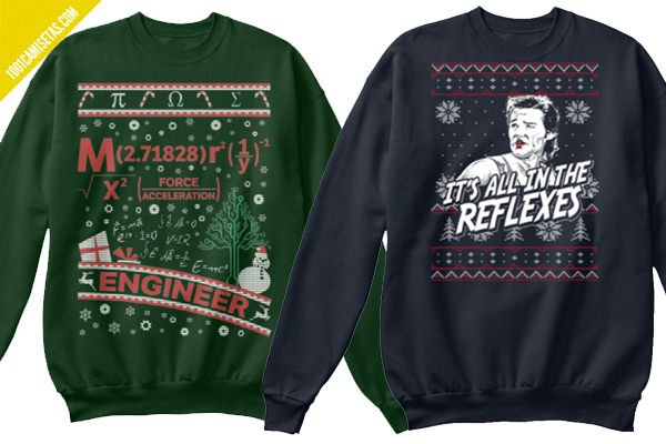 Ugly christmas sweaters golpe china