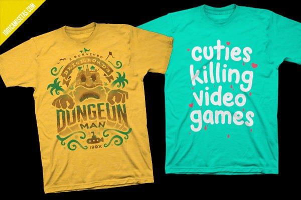 Camisetas fangamer
