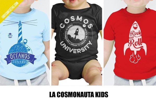 Camisetas infantiles la cosmonauta