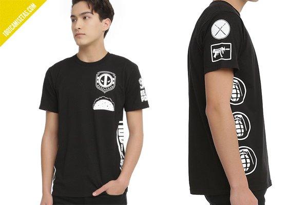 Camiseta de deadpool