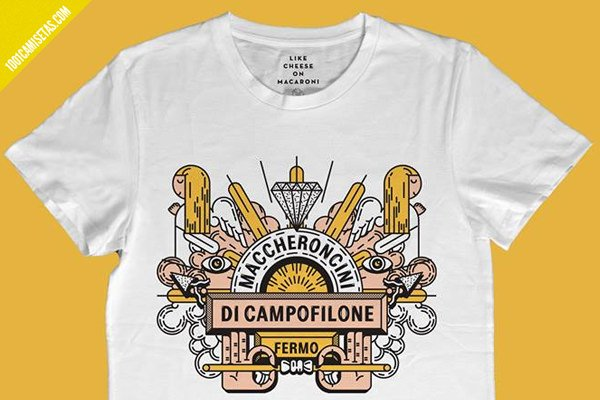 Camiseta maccheroncini di campofilone
