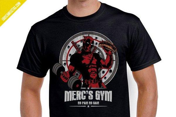 Camiseta mercs gym