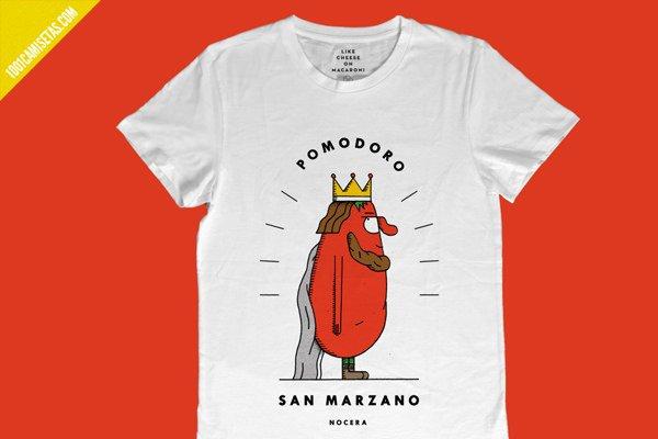 Camiseta pomodoro