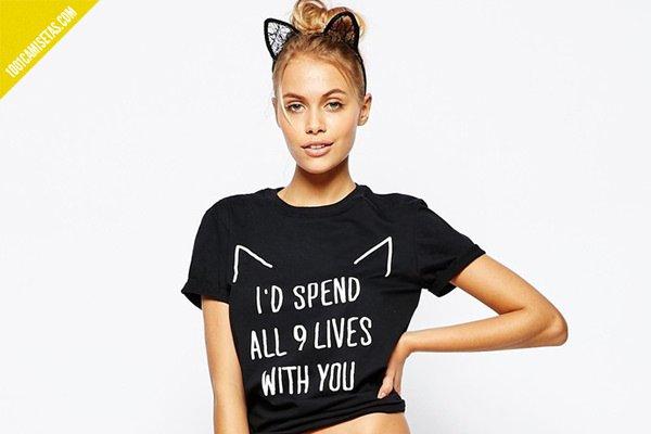 Camisetas románticas