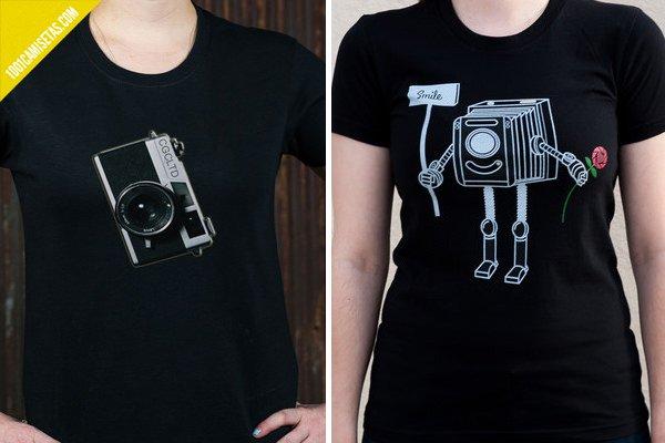 Camisetas de fotografos