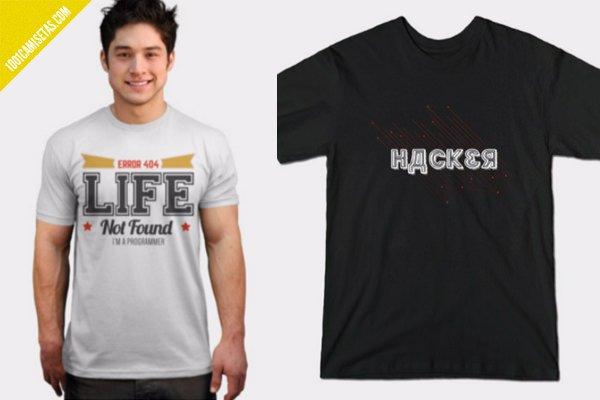 Camisetas hackers