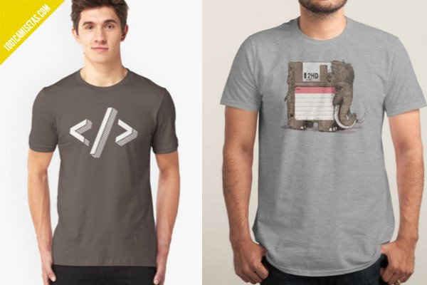 Camisetas programadores