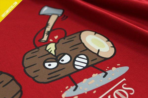Camiseta juego de tronkos kukuxumusu