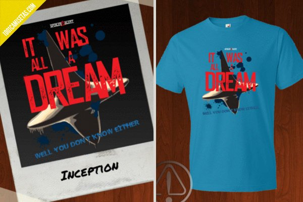 Camiseta inception spoiler