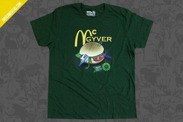 Camiseta mcgyver pabloky