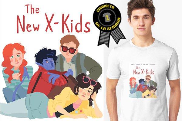 Camiseta semana x-men
