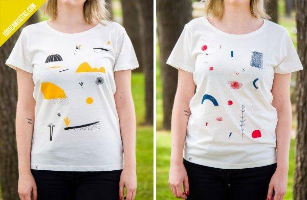 Camisetas comercio justo mandacaru