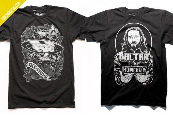 Camisetas battlestar galactica
