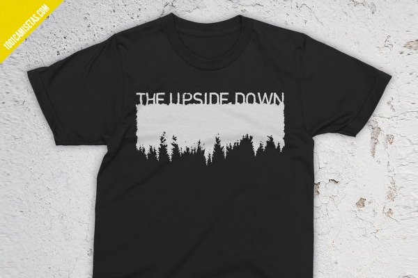 Camiseta upside down stranger things