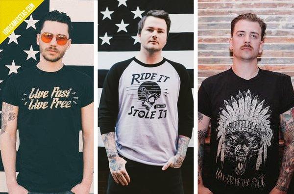 Camisetas de loner rebel