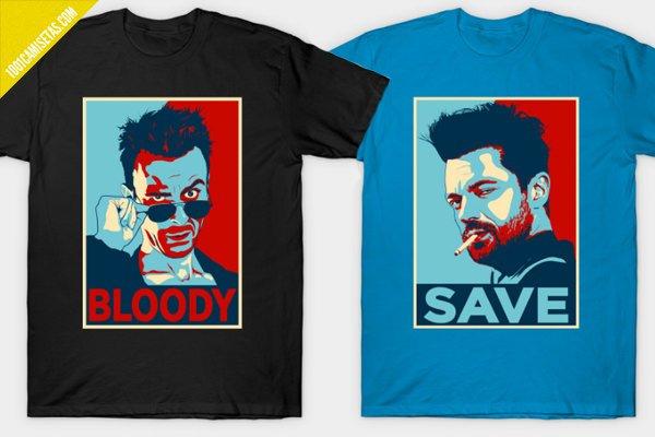 Camisetas preacher cassidy