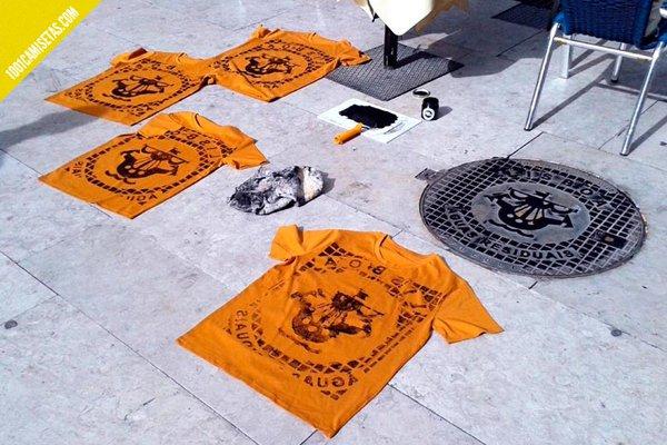 Camisetas serigrafia raubdruckerin