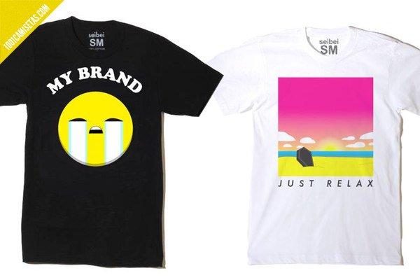 Camisetas emoji seibei