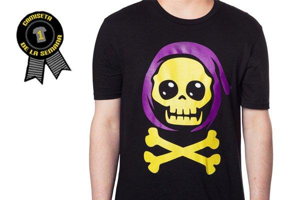 Camiseta de la semana skeletor