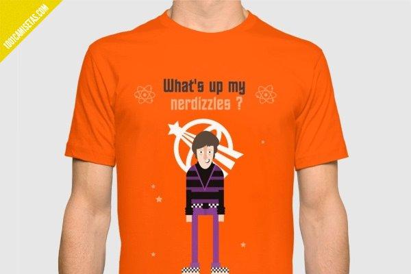 Camiseta howard wolowitz the big bang theory