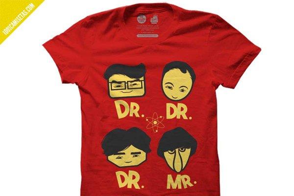 Camiseta the big bang theory
