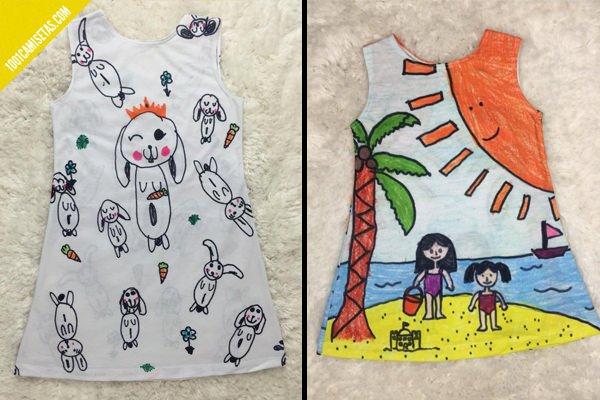 Vestidos infantiles personalizados