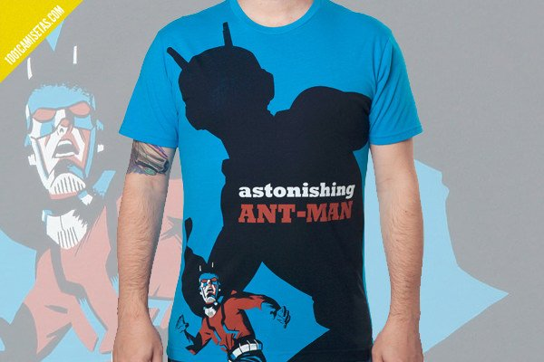 Camiseta ant man