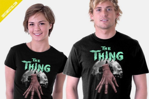 Camiseta the thing
