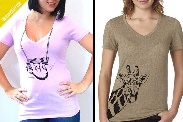 Camisetas animales artisan tees