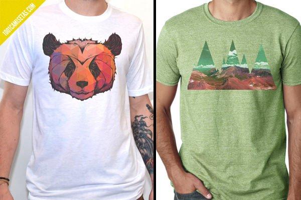 Camisetas vintage artisan tees
