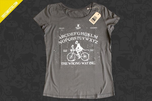 Camiseta the wrong way la cosmonauta