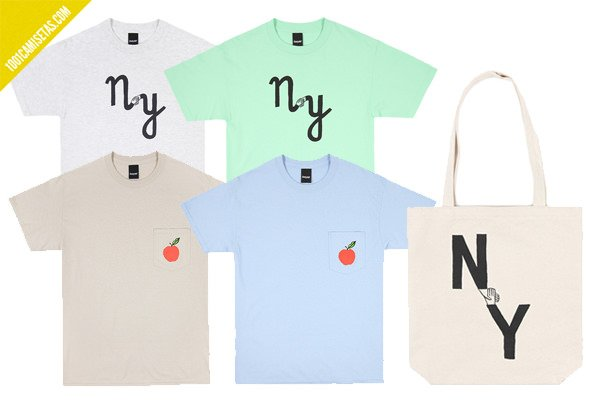 Camisetas jean jullien ny