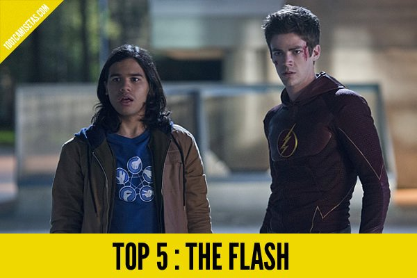 Camisetas the flash