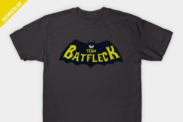Camiseta batfleck batman