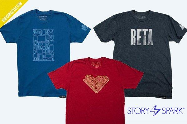 Camisetas story spark