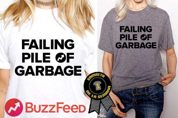Camiseta semana buzzfeed