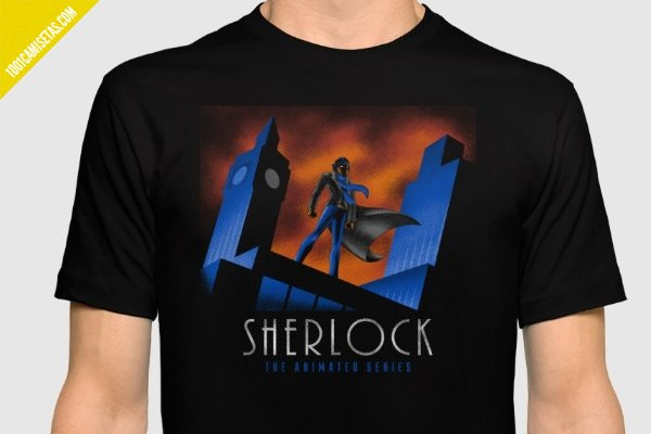 Camiseta sherlock holmes society6