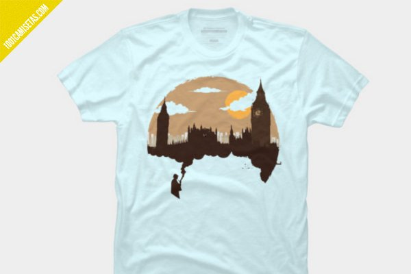 Camiseta sherlock london design by humans